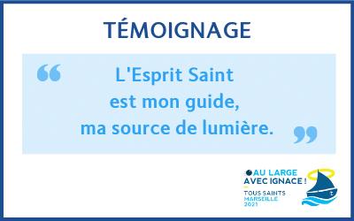 «L'Esprit Saint est mon guide» : témoignage de sœur Joséphine